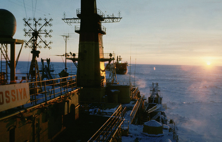 A view of the Kara Sea