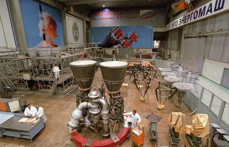 RD-180 rocket engine (archive)