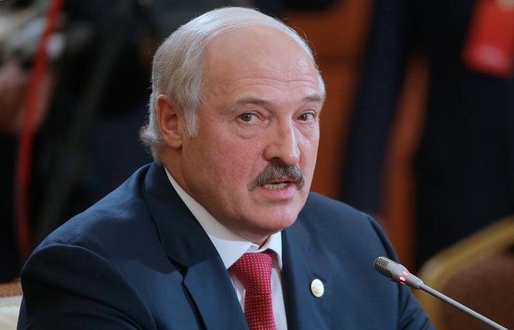Belarussian President Aleksandr Lukashenko
