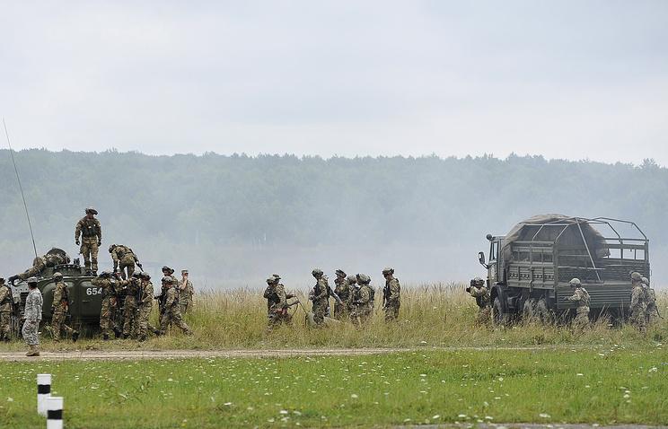 Rapid Trident military exercises in Ukraine (archive)