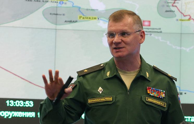 Russian Defense Ministry Major General Igor Konashenkov