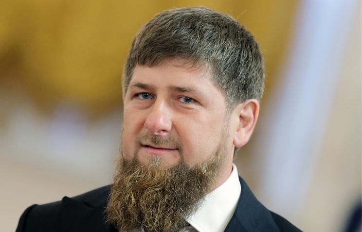 Ramzan Kadyrov, acting head of the Chechen Republic
