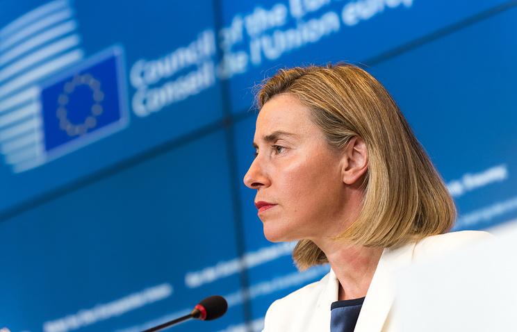Federica Mogherini, the EU High Representative for Foreign Affairs and Security Policy