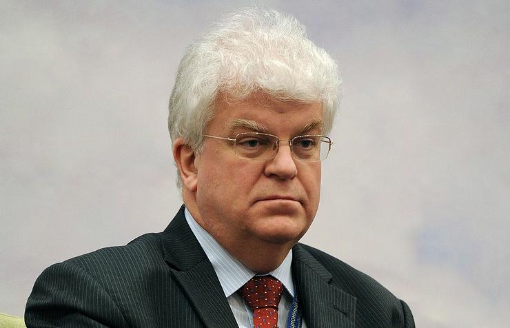 Russian Permanent Representative to the European Union Vladimir Chizhov