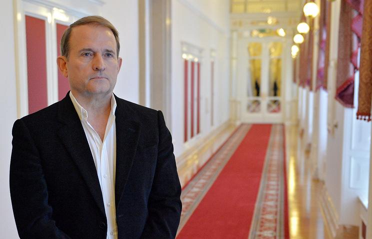 Leader of the Ukrainian Choice movement Viktor Medvedchuk