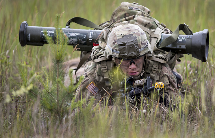 NATO military exercise in Lithuania