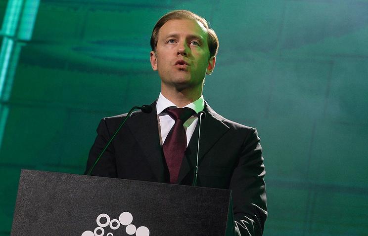 Russian Industry and Trade Minister Denis Manturov