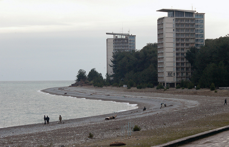 A view of a resort in Abkhazia (archive)