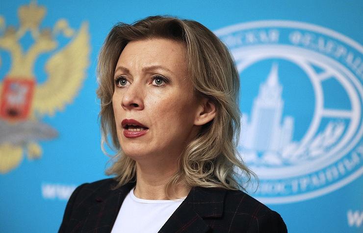 Russian Foreign Ministry spokeswoman Maria Zakharova