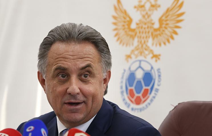 Russian Minister of Sports Vitaly Mutko