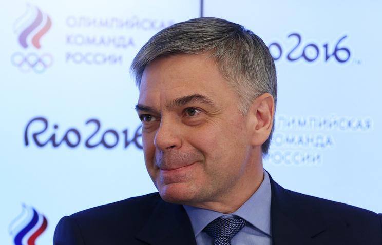 President of the Handball Federation of Russia Sergei Shishkaryov