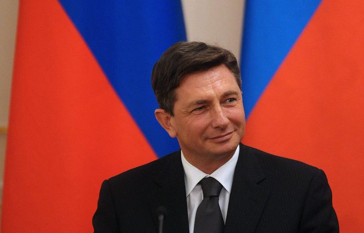 President of Slovenia Borut Pahor