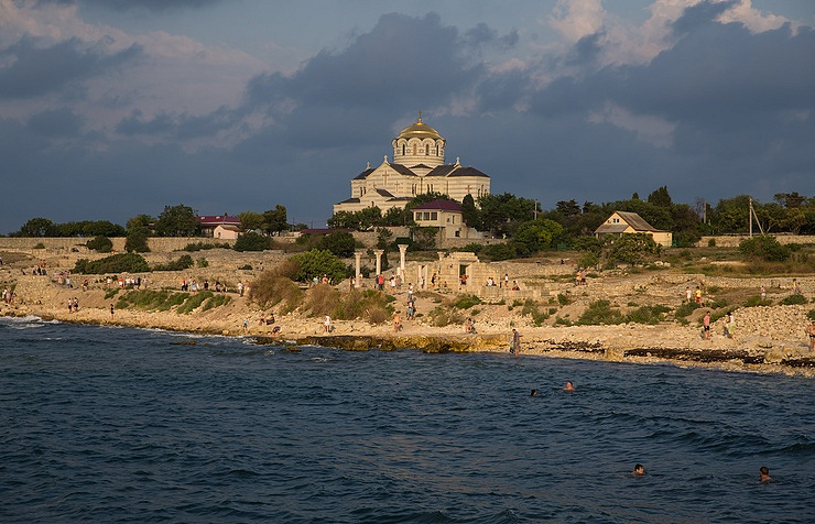 The Crimean peninsula
