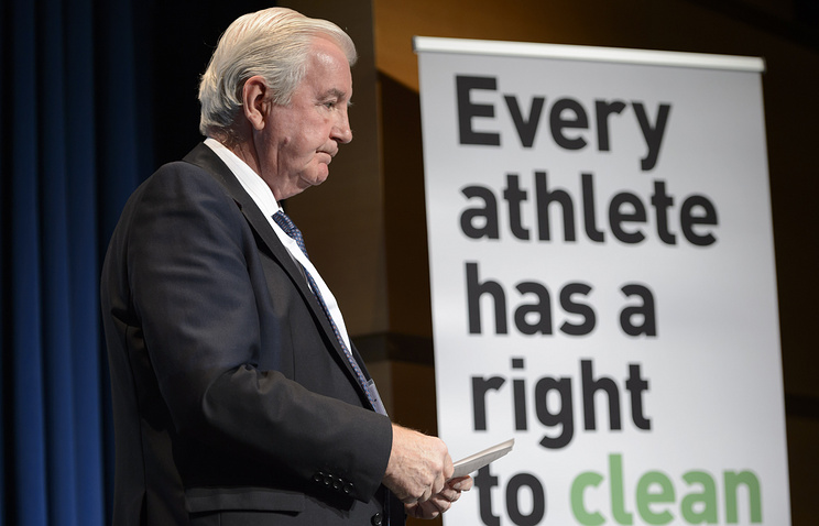 WADA President Craig Reedie