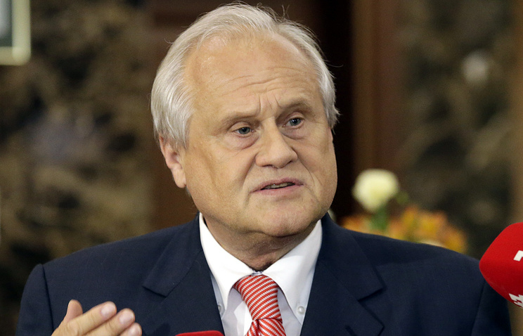 Special Representative of the OSCE Chairperson-in-Office in Ukraine Martin Sajdik