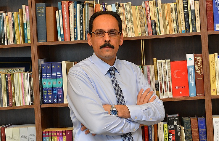 Ibrahim Kalin, a spokesman for Turkish President