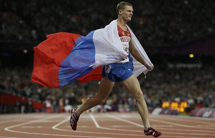 Three-time champion of the Paralympics 2012 Evgeny Shvetsov