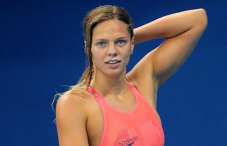 Russian swimmer Yuliya Yefimova