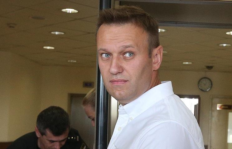 Opposition blogger Alexei Navalny