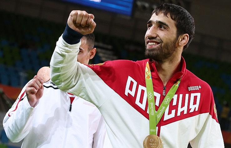 Russian judoka Khasan Khalmurzaev