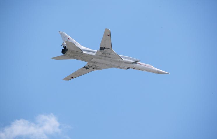 Russia's long-range Tupolev-22M3 bomber