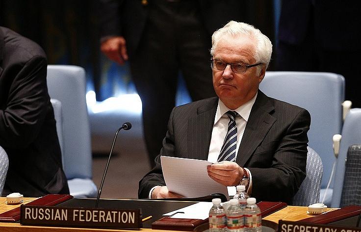 Russian Ambassador to the United Nations Vitaly Churkin