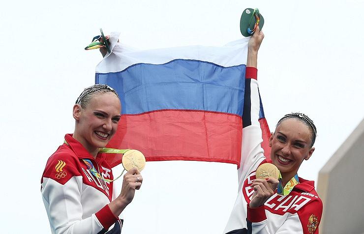 Natalya Ishchenko and Svetlana Romashina