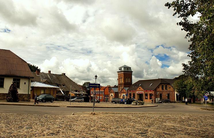 Latvian town of Limbazi