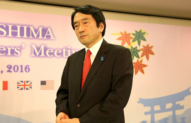 Japanese Foreign Ministry Press Secretary Yasuhisa Kawamura