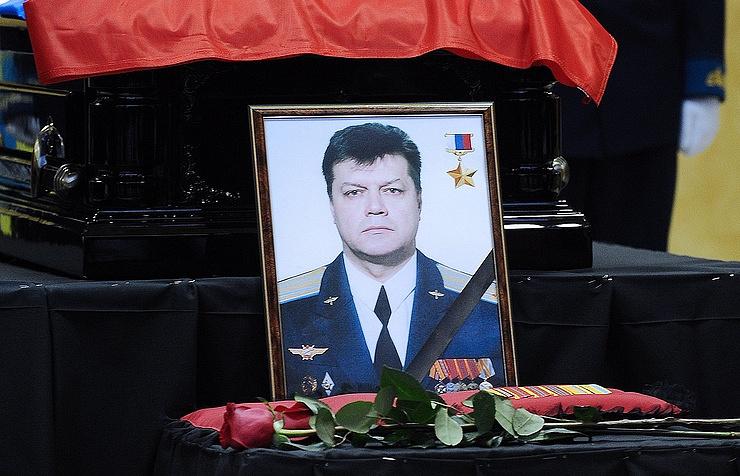 Russian pilot Oleg Peshkov