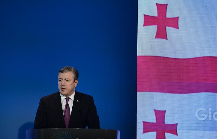 Georgian Prime Minister Georgy Kvirikashvili