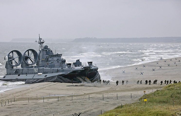Russia's military drills in the Baltic (archive)