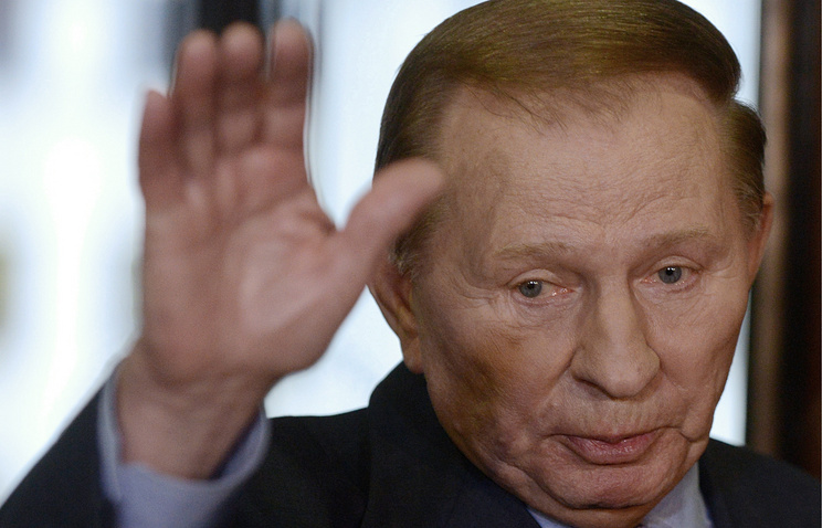 Former Ukrainian president Leonid Kuchma