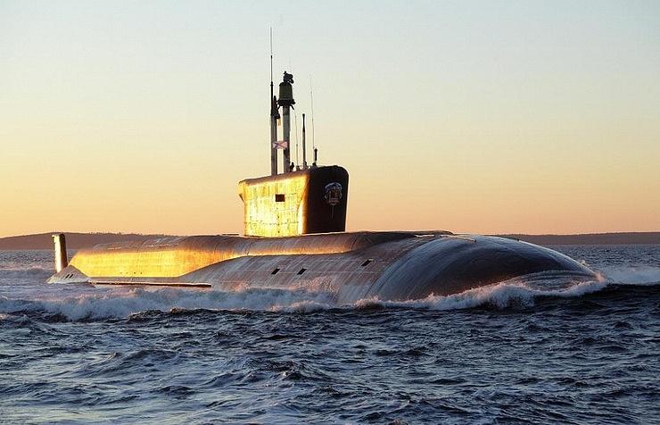The Vladimir Monomakh submarine