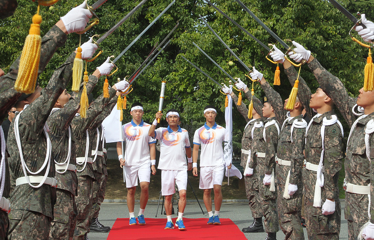 2015 Summer Military World Games in South Korea