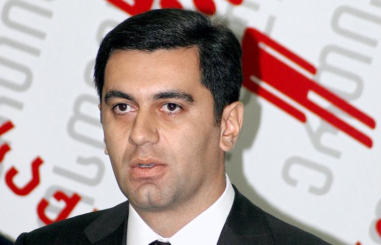 Georgia's former Defense Minister Irakliy Okruashvili