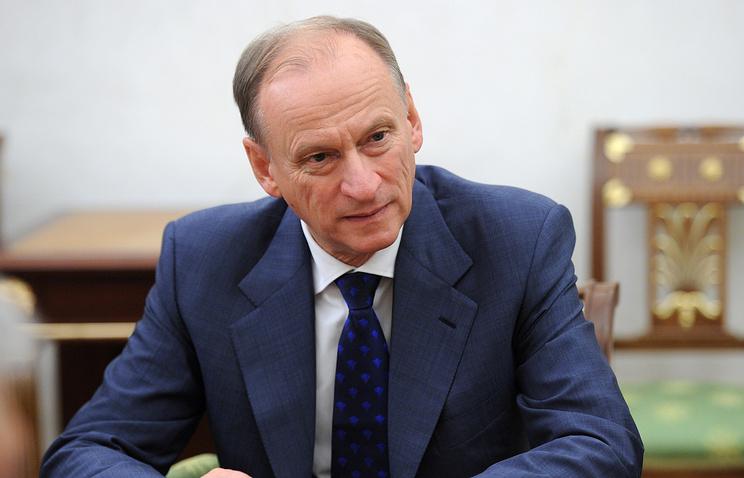 Russia's Security Council Secretary Nikolay Patrushev