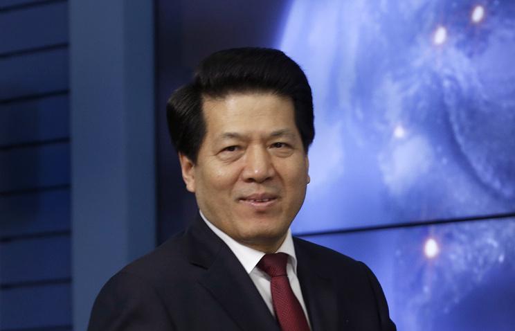 Chinese Ambassador to Russia Li Hui
