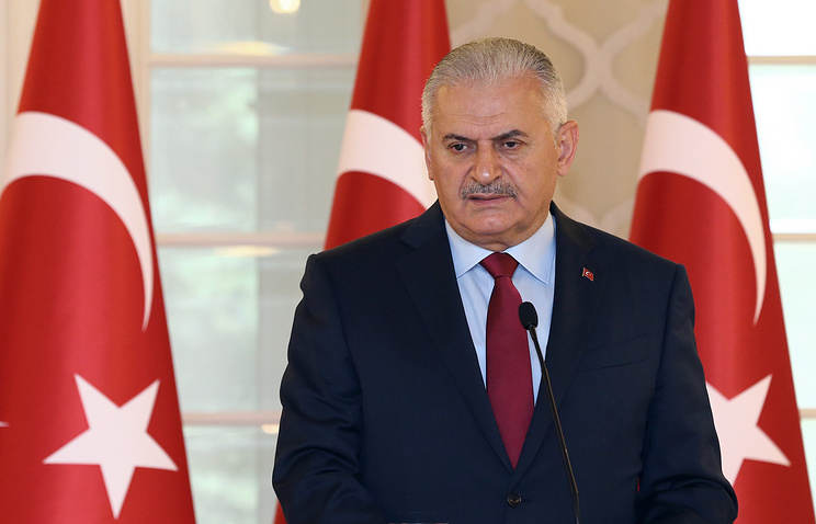 Turkey's Prime Minister Binali Yildirim