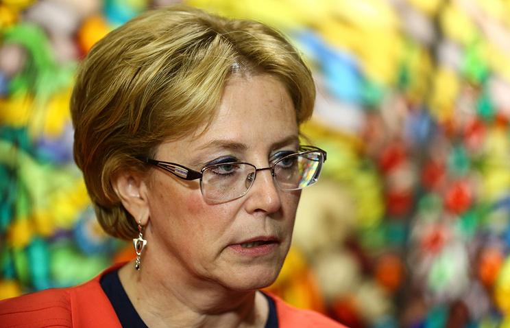 Russian Healthcare Minister Veronika Skvortsova