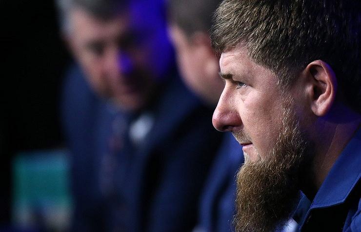 Head of Russia's Chechen Republic, Ramzan Kadyrov,