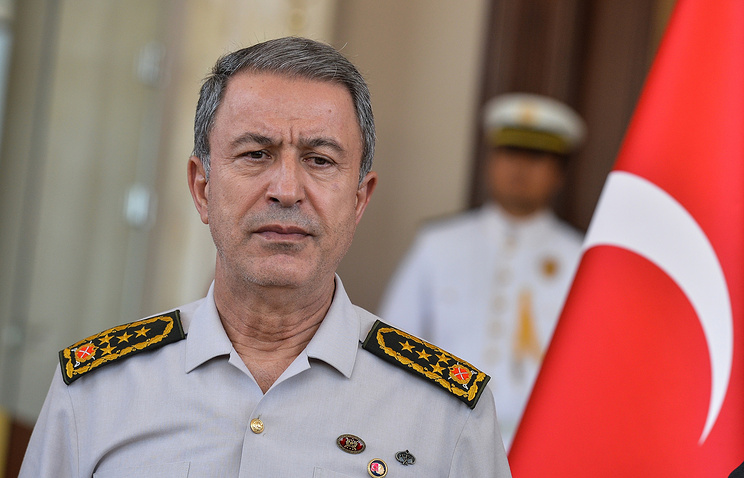 Turkish General Staff chief Hulusi Akar