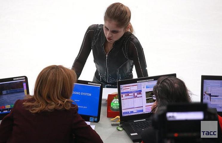 Russian figure-skater Yuliya Lipnitskaya