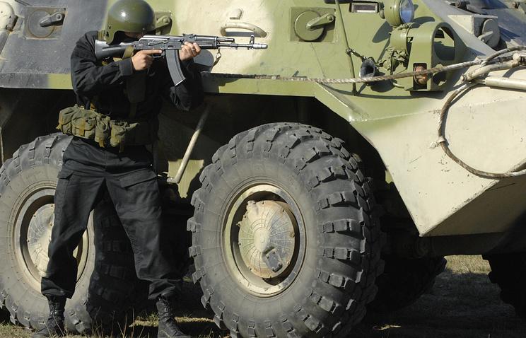 Russia-China counterterrorism drills