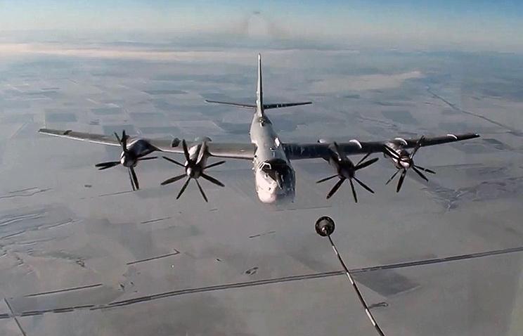 Tupolev-95MS strategic bomber