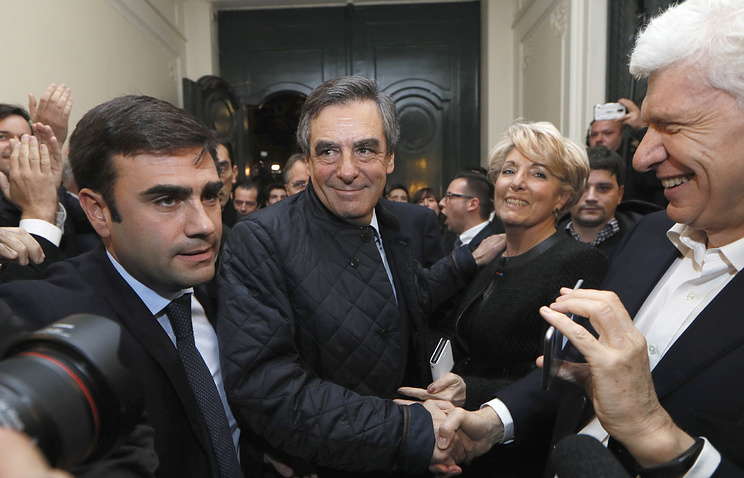 Former French Prime minister and candidate for the French right-wing presidential primary Francois Fillon