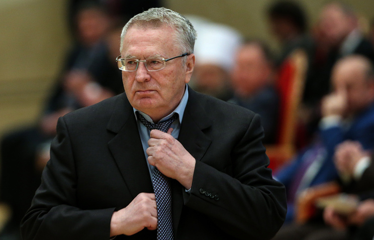 LDPR leader Vladimir Zhirinovsky