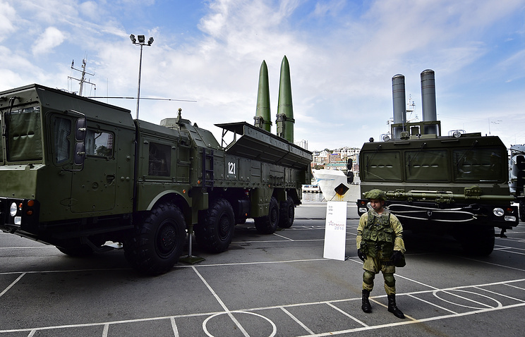 Bastion missile system (right)