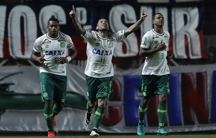 The Chapecoense team