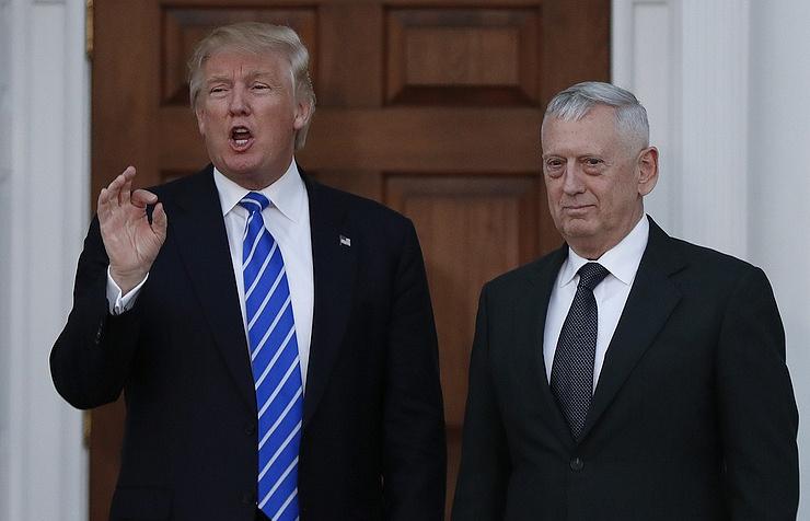 Trump, Mattis